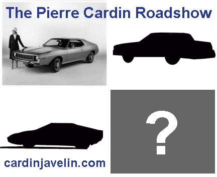 The Pierre Cardin Roadshow, custom cars