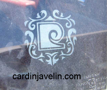 Cardib Cadillac etched windows
