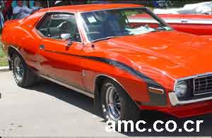 1972 Cardin Javelin trans am red