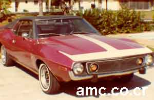 1973 Cardin AMX red